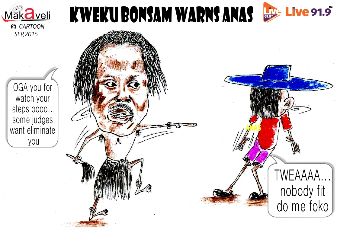 KWEKU BONSAM CARTOON