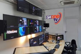 PHOTOS: How GH One TV's new studios is SHAPING UP