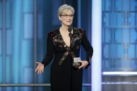 WATCH: Streep wins Globe DeMille award, criticizes Trump