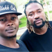 Photo: Stonebwoy's manager meets with his 'brother' BeatzDakay