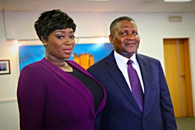 Peace Hyde Interviews Africa's Richest Man, Aliko Dangote in exclusive…