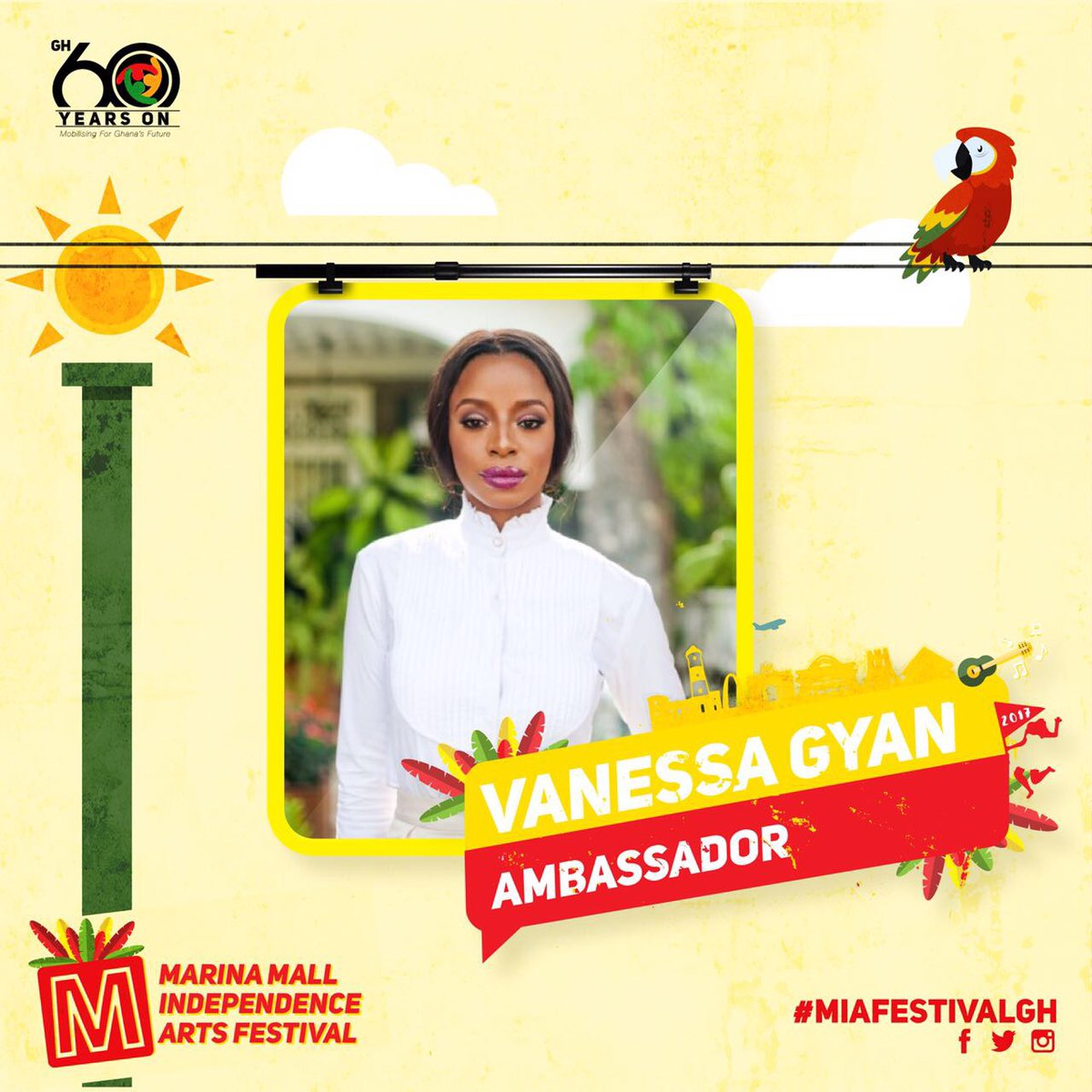 Vanessa Gyan named ambassador for Marina Mall arts festival - EOnlineGH.Com