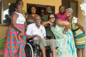 PHOTOS: Friends, Fans donate to Veteran actor Emmanuel Armah