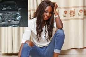 'Efiewura' actress survives horrific accident
