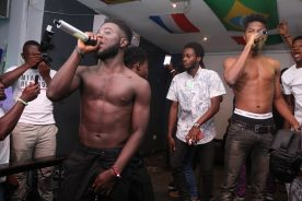 Photos: B4Bonah wows audience @ 'Live Artiste of the Month'…