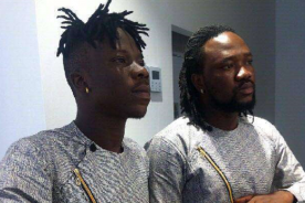 Photo: Stonebwoy reunites with his former Producer, BeatzDakay