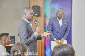 Photos: Bola Ray mentors 30 young business leaders