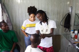 Barber Emeline with Control