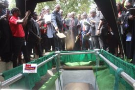 Photos: Late KABA finally laid to rest