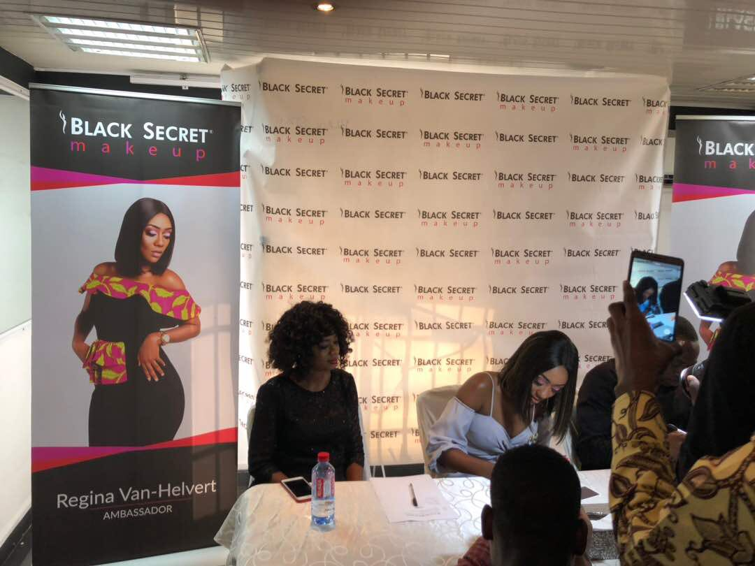 REGINA VAN-HELVERT IS NEW AMBASSADOR FOR BLACK SECRET MAKE UP