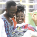 Photo: Okyeame Kwame worships his wife's buttocks on their 9th…