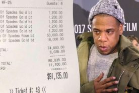 Jay Z spent close to $100,000 in One Night for…