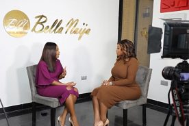 WATCH: Peace Hyde interviews founder of BellaNaija