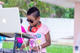 DJ Switch makes history as the youngest nominee @ Ghana…