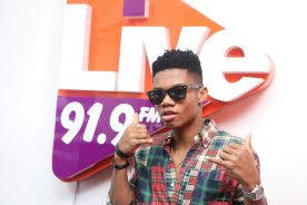 #LiveFMCharts: Kidi snags number one position With 'Enjoyment'