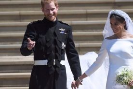 #RoyaWedding: Harry and Meghan thank public for support