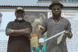 WATCH: Azumah Nelson stars in new music video by M.anifest