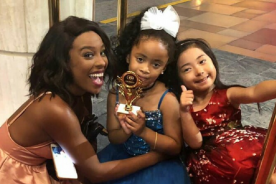 Photos: 5-year old Ghanaian actress wins Hollywood award