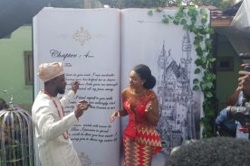 Photos: Becca marries former manager of Ice Prince