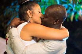 Photos & Video: Chris Attoh marries Bettie after Damilola divorce