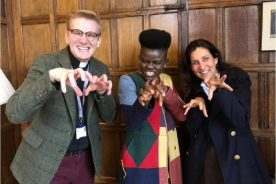 WATCH: Wiyaala's UK Fundraiser For Ghana Teaching Programme