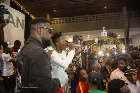 Photos: Sarkodie, Akwaboah, others support Strongman's #STNEP launch