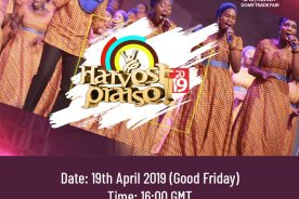 Harvest Praise 2019 To Air Live On DStv and GOtv…