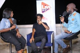 WATCH: Live 91.9 FM hosts Kwesi Arthur #LFNKII Listening Party