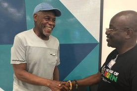 WATCH: American actor Danny Glover in Ghana for 'Jamestown to…