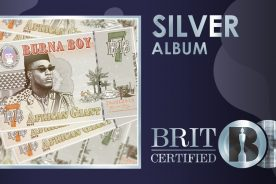 """Burna Boy's Album """"African Giant"""" is Certified Silver in the…"""